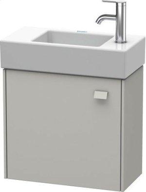 Vanity Unit Wall-mounted, For Vero Air # 072450concrete Gray Matt Decor Product Image