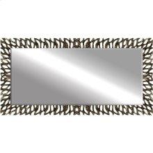 Aged Silver Zephyr Mirror