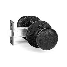 Double Knob Set - Rough Iron