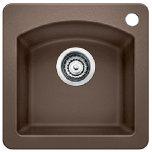 BlancoBlanco Diamond Bar Sink - Caf(eback) Brown