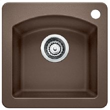 Blanco Diamond Bar Sink - Café Brown