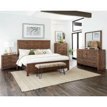 Reeves Mojave Brown Eastern King Bed