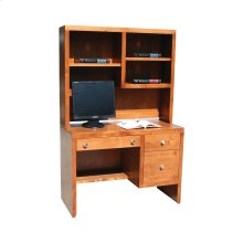 "P100 Pacific Urban 45"" Student Desk and Hutch"
