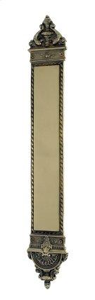 Nostalgic Warehouse - New Orleans Pushplate in Polished Brass Product Image