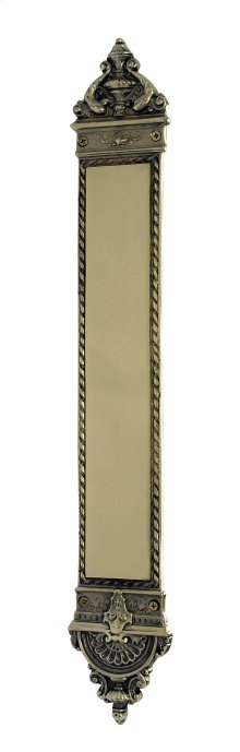 Nostalgic Warehouse - New Orleans Pushplate in Polished Brass