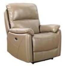 REC-349 Brazil Putty Leather Recliner
