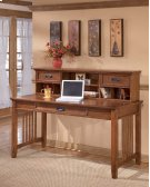 Home Office Short Desk Hutch Product Image