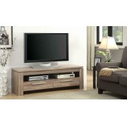 Transitional Weathered Brown TV Console Product Image