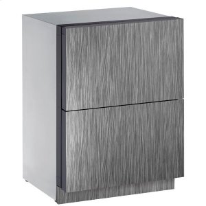 "U-Line24"" Refrigerator Drawers With Integrated Solid Finish (115 V/60 Hz Volts /60 Hz Hz)"