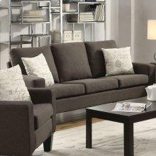 Bachman Transitional Grey Sofa