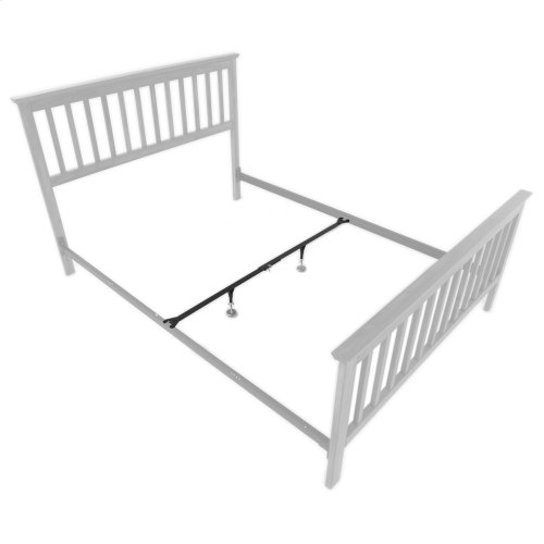 """Inst-A-Lift IL-1 Single Center Bed Support System with (2) 9"""" Height Adjustable Glides and Clamp Assembly, Full / Queen"""