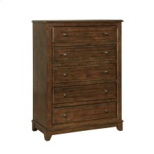 Laughton Rustic Five-drawer Chest
