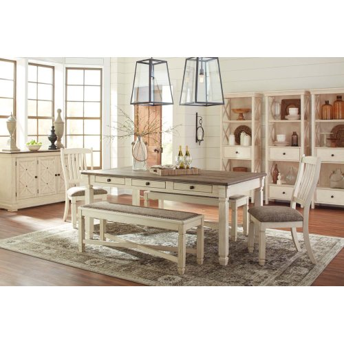 Aria - Antique White 6 Piece Dining Room Set