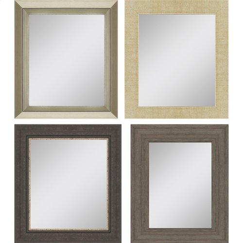 Mirror Assorted 8x10 Pk/4