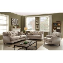 LOVESEAT W/2 PILLOWS