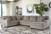 Platinum Sectional with Chaise - RSF