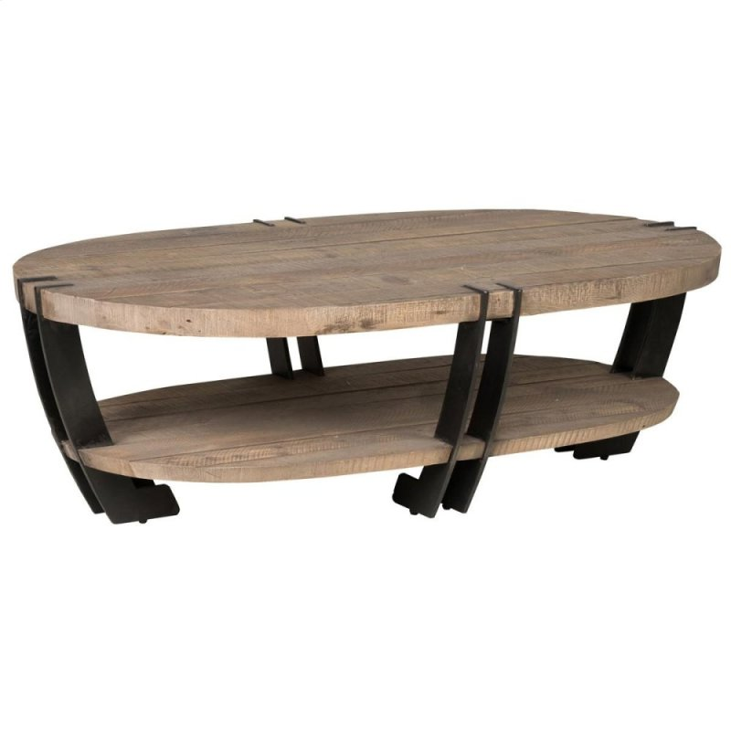 Marcelo Oval Coffee Table