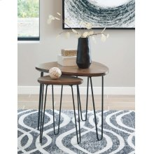 Triangle End Table
