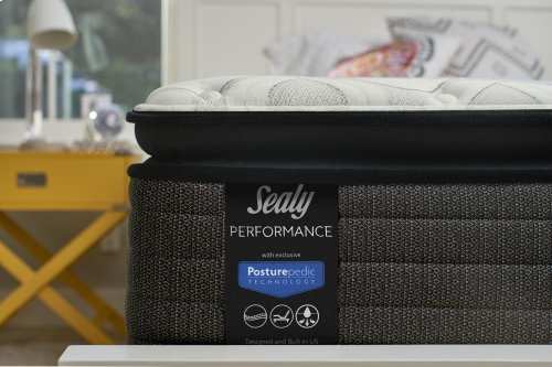 Response - Performance II - Serious - Cushion Firm - Mattress and Flat Foundation