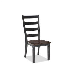 Intercon FurnitureGlennwood Side Chair  Black & Charcoal