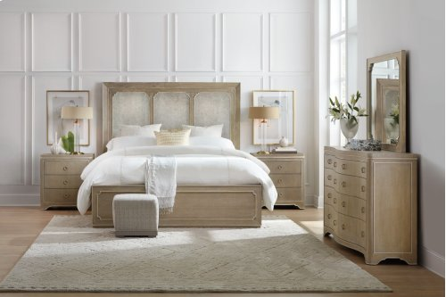 Bedroom Modern Romance Queen Panel Bed