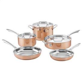 8 Piece Set (Copper Tri-Ply Cookware)