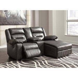Ashley Furniture Coahoma - Dark Gray 3 Piece Sectional