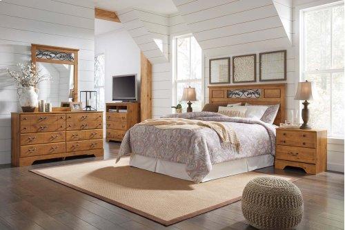 Bittersweet - 3 Pc. Full/Queen Bedroom - Dresser, Mirror & Headboard