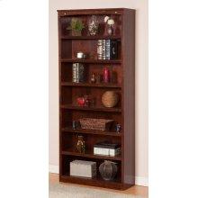 Harvard 84in Book Shelf in Walnut