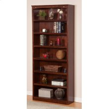 Harvard 84in Book Shelf in Walnut