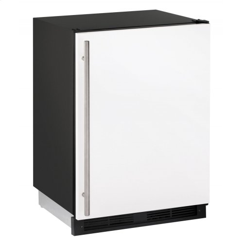"""1000 Series 24"""" Solid Door Refrigerator With White Solid Finish and Field Reversible Door Swing (115 Volts / 60 Hz)"""