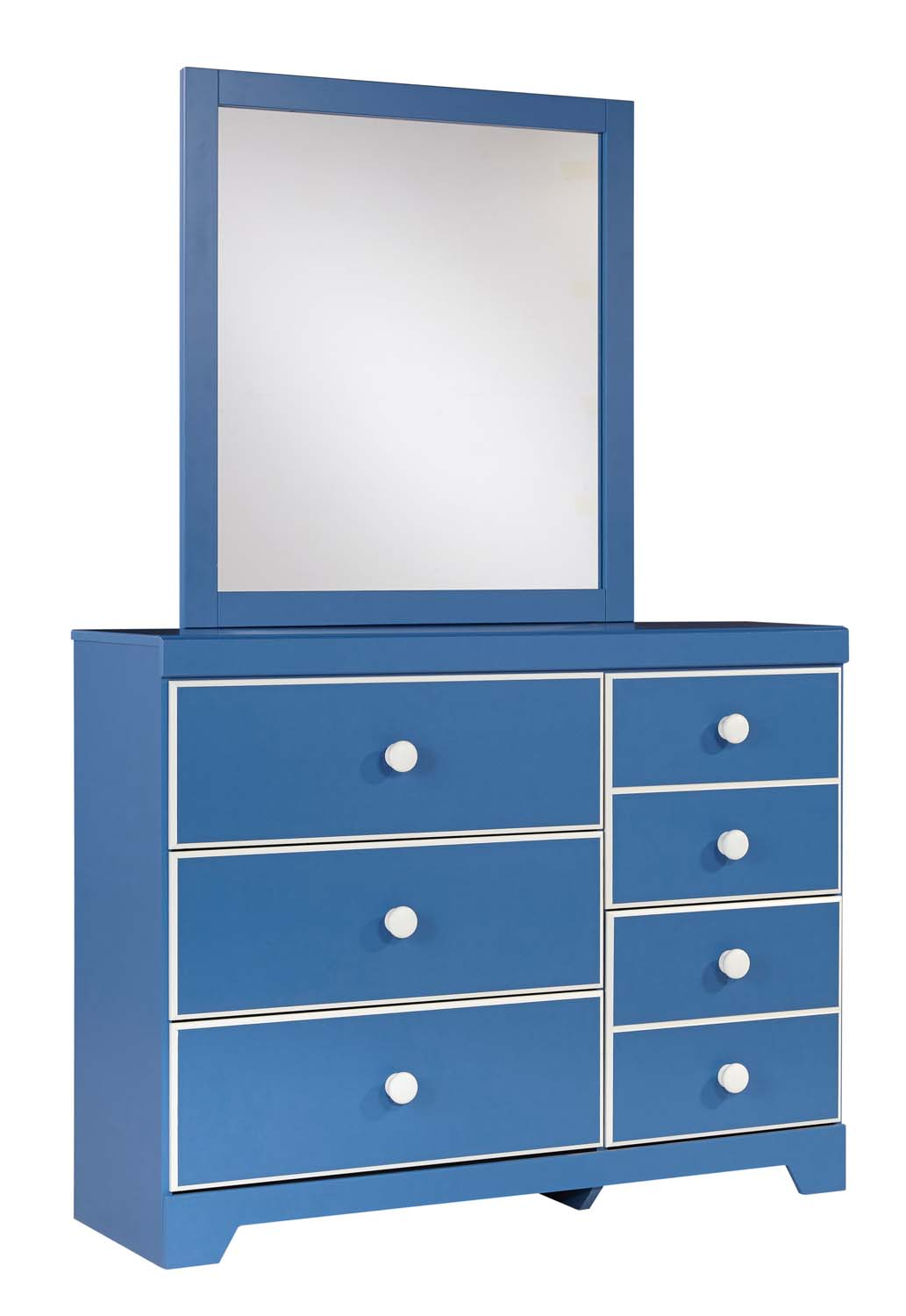 Bronilly   Blue 2 Piece Bedroom Set Product Image