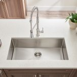 American StandardPekoe Extra Deep Undermount 23x18 Single Bowl Kitchen Sink  American Standard - Stainless Steel