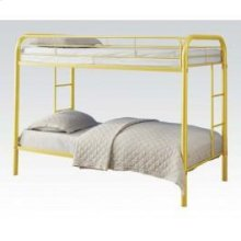 Yellow Twin/twin Bunkbed