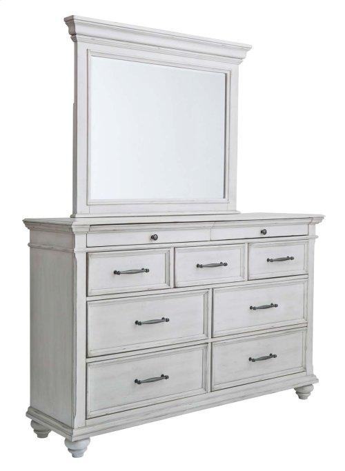 Kanwyn - Whitewash 2 Piece Bedroom Set