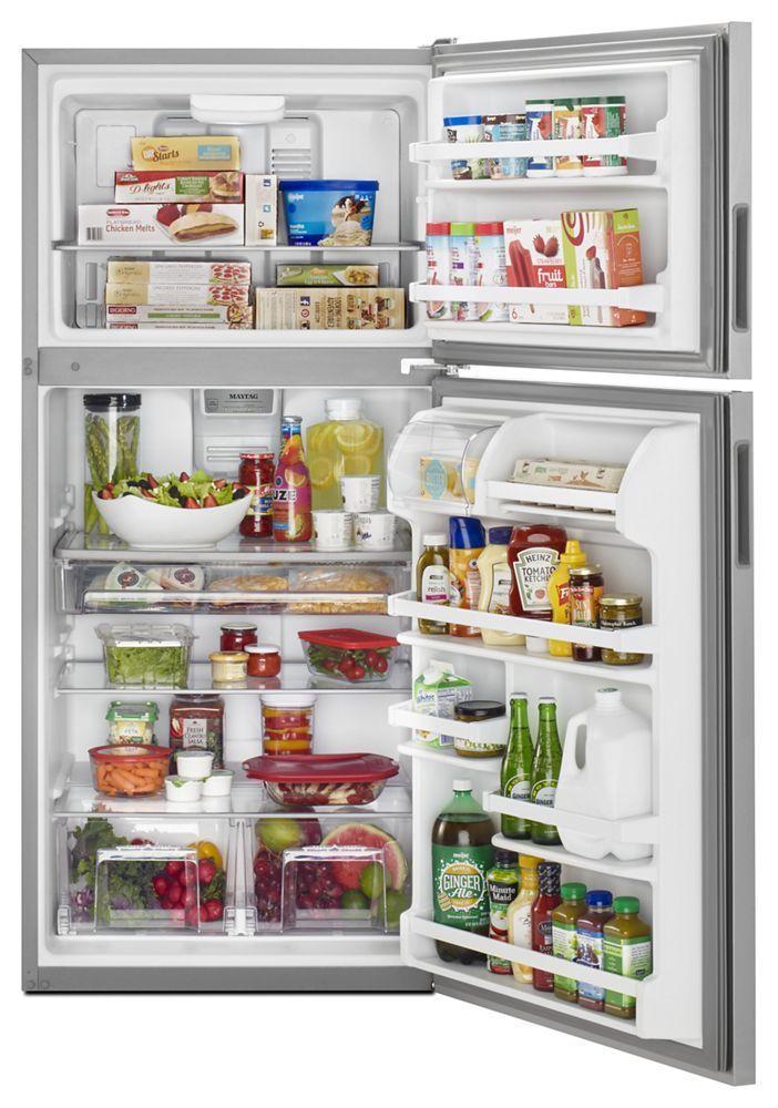 Mrt118fffz Maytag 30 Inch Wide Top Freezer Refrigerator
