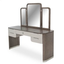 Vanity/desk & Mirror (2 Pc)