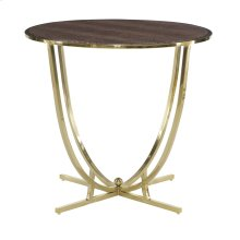 Jet Set Round End Table