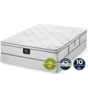 SERTAPerfect Sleeper - Private - Luxury Euro Top - Twin