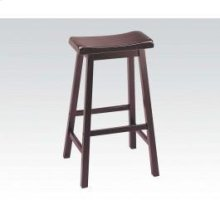 "7306 Gaucho Walnut 29"" Solid Wood Stool"