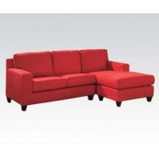 Red Mfb Rev. Chaise Sectional Product Image