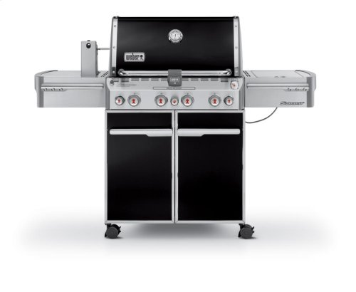 SUMMIT® E-470™ LP GAS GRILL - BLACK