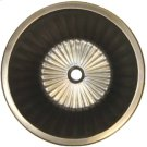 Bronze Round Flat Bottom Fluted Product Image