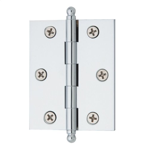 Polished Chrome Cabinet Hinge
