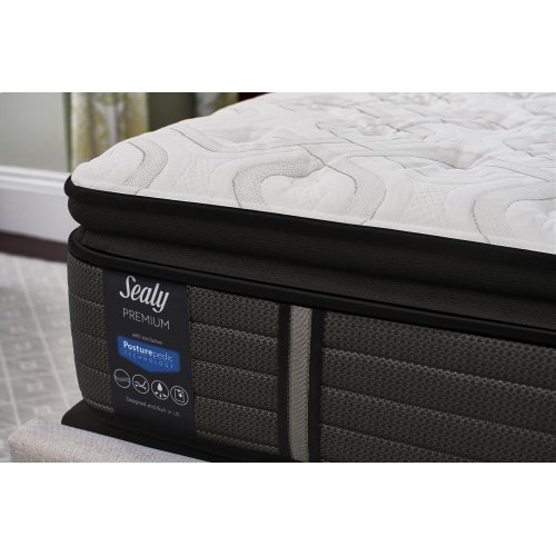 Sealy Posturepedic Premium - Satisfied - Cushion Firm - Pillow Top - Twin