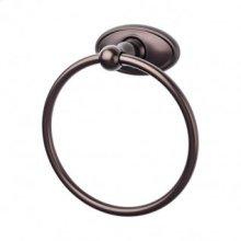 Edwardian Bath Ring Oval Backplate - Oil Rubbed Bronze