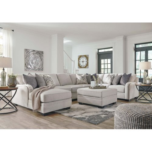 LAF Chaise 2 Pc Sectional