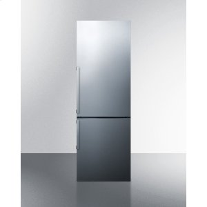 SummitFrost-free Energy Star Certified Bottom Freezer Refrigerator In Stainless Steel With Digital Controls; Replaces Ffbf245ssx