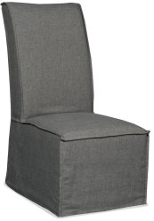 Dining Room Zuma Charcoal Armless Dining Chair