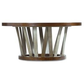 Living Room Lorimer Round Cocktail Table